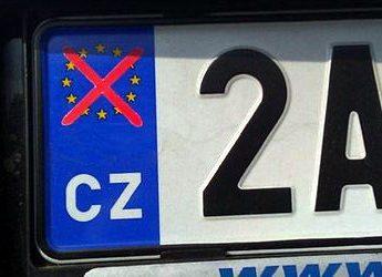 Přelepka RZ / SPZ